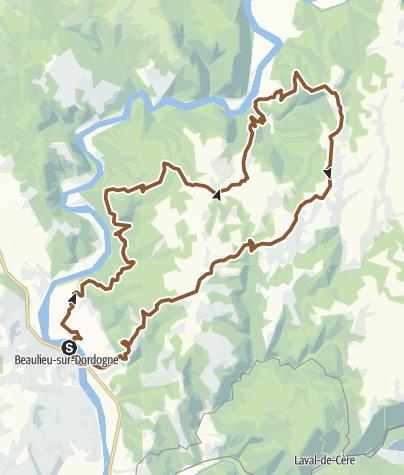 Carte / Beaulieu-Altillac