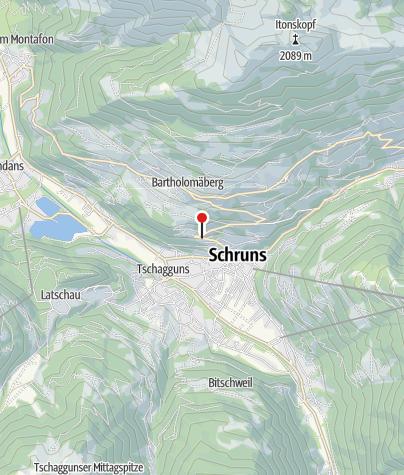 Karte / Haus Bergblick