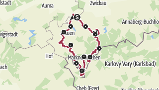 Map / Vogtland Panorama Trail® - A circuit featuring a technical Monument of International Standing