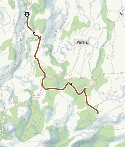 Map / GTMC 05 Orcival - Pessade