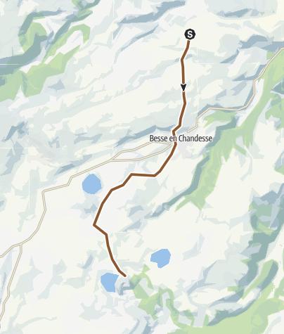 Map / GTMC 07 St-Victor-la-Riviere - Lac de Montcineyre