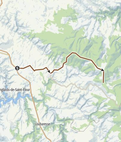 Map / GTMC 14 Le Pirou - La Croix de la Donne