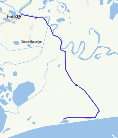 Карта / Tura Delta-realizata