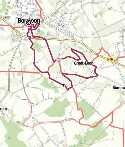 Map / Wandeling Borgloon