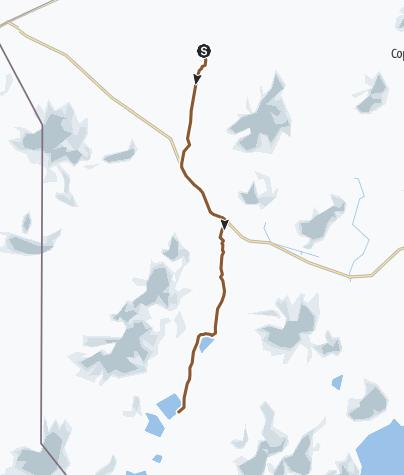 Mapa / 8 Departamento Autónomo de Potosí, Bolivia