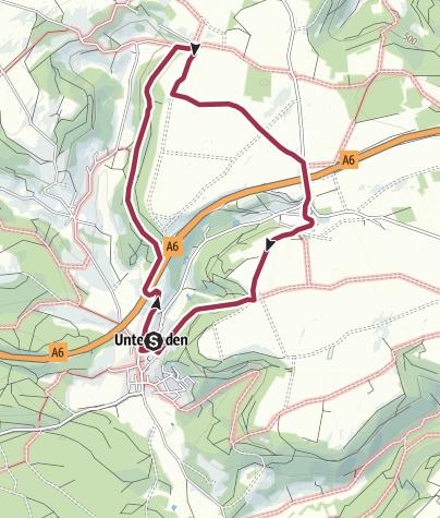 Karte / Altdorf bei Nürnberg. Rundwanderweg 7a
