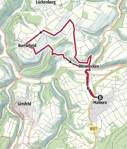 Karte / Malborn-Burtscheid-Malborn