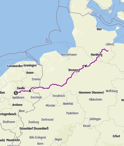 Map / Leg 4 of trip