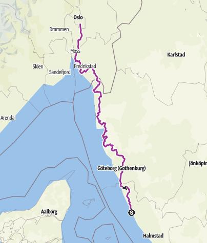 Map / Leg 6 of Trip