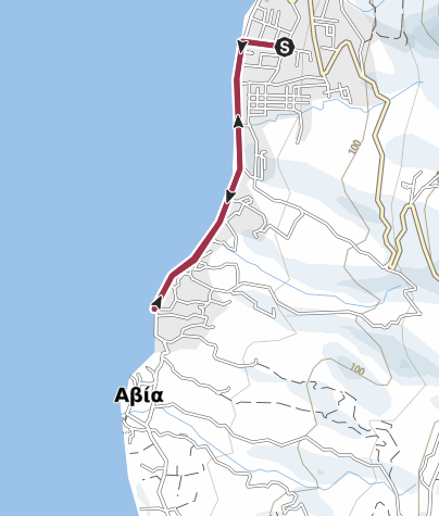 Mappa / Grecia passeggiata Pytagora