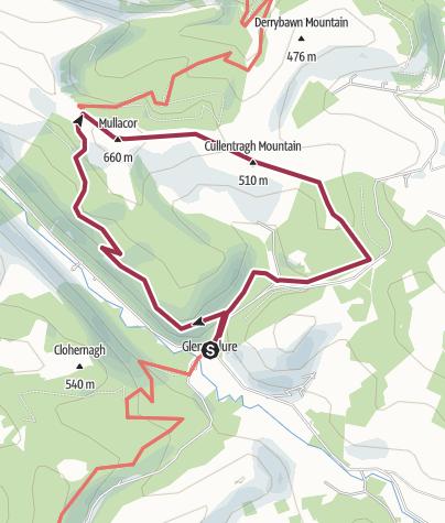Map / Sat 25-6-16 route
