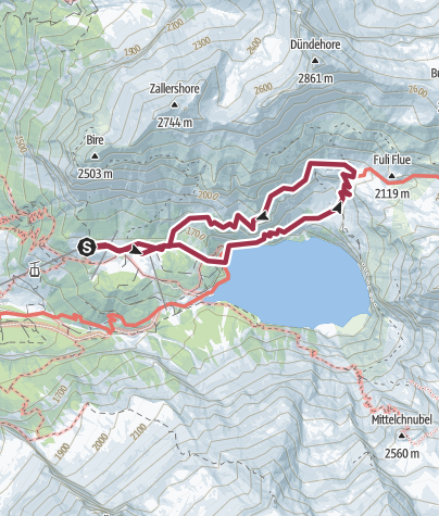 Mapa / Oeschinensee 26/6/2017 7:39:45