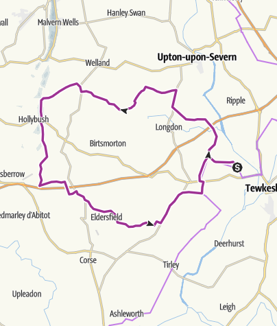 Map / Castlemorton Loop v2