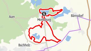 Karte der Tour BRÜCKE Weg- Radtour