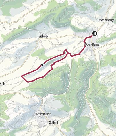 Sauerland Karte Berge.Rundweg Um Berge B5 Wanderung Outdooractive Com