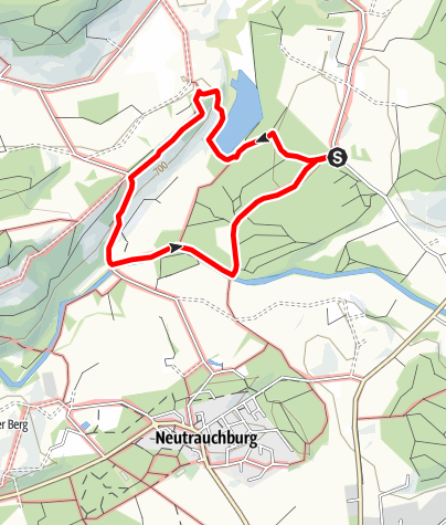 Karte / Isny - Herbisweiherrunde