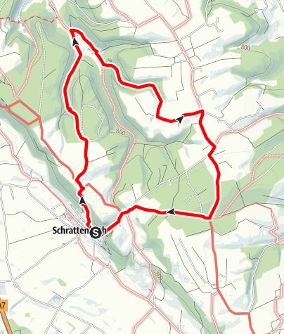 Karte / Wanderweg 6