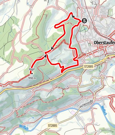 Karte / Kapfgipfel