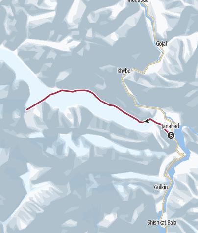 Map / Batura Glacier