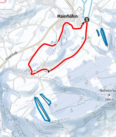 Karte / Riedholzloipe