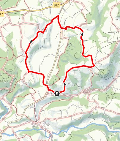 Karte / Gestratz Rundweg Isnerberg