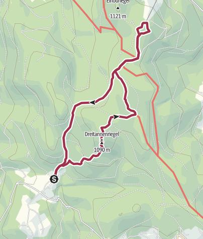 Karte / Deggendorfer Hausberge