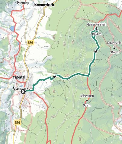Map / Peilstein - Yspertal Nr. 33