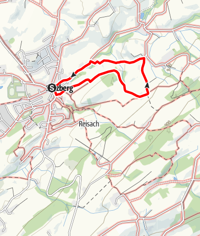Karte / 3 - Zum Weiler Pfaffenried bei Sulzberg