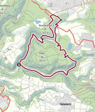 Karte / Traumpfad Waldschluchtenweg