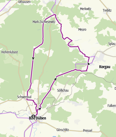 Karte / Heide ohne Schafe