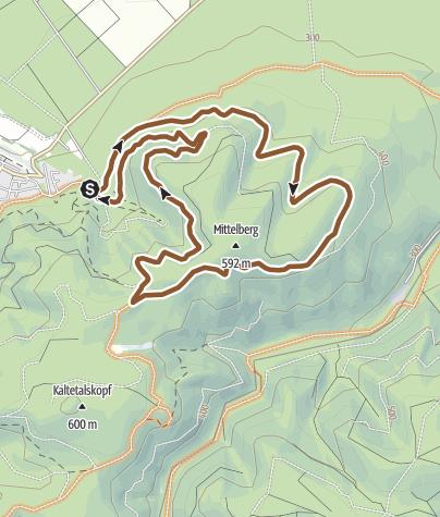 Karte / Wernigeröder-Bank-Tour