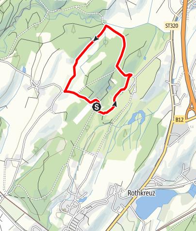 Karte / Lindau R5 Lampertsweiler Runde