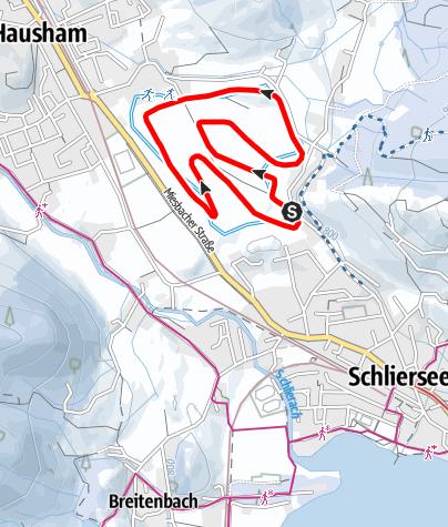 Karte / Kirchbichl-Loipe