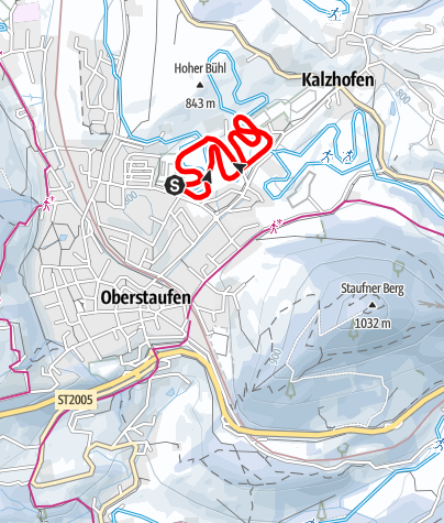 Karte / Kalzhofer-Loipe