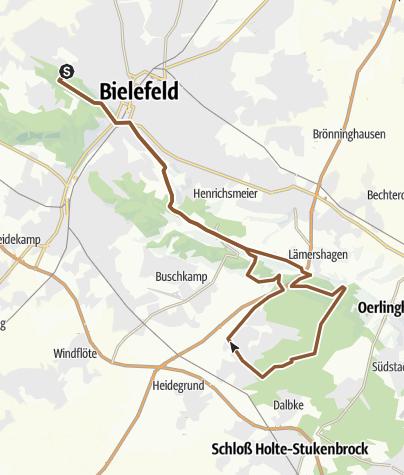 Karte / Sonntagstour