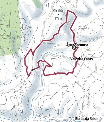 Map / PR4 VLR – Caminho do Xisto de Água Formosa