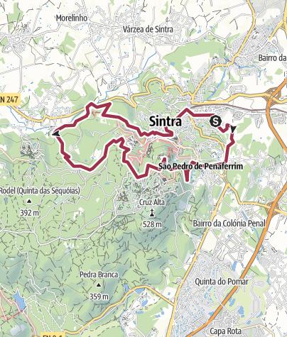 Map / Trilho: Sintra - a Cidade e a Serra