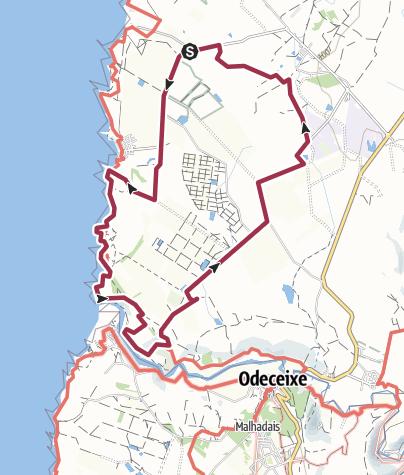 Map / Trilho: Brejão - Azenha do Mar - Odeceixe