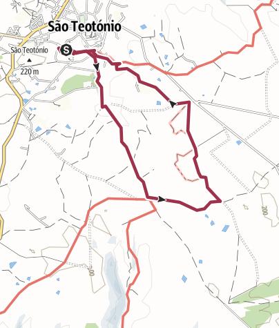 Map / Trilho: São Teotónio