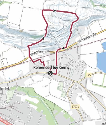 Karte / Hauersteig-Wanderweg - 4,8km