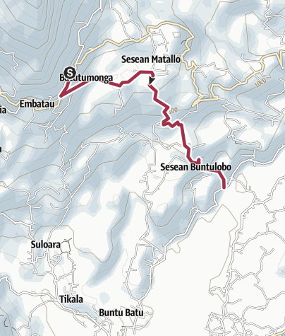 Mapa / Rando Toraja J3 Fin