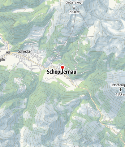 Karte / Sporthotel Krone