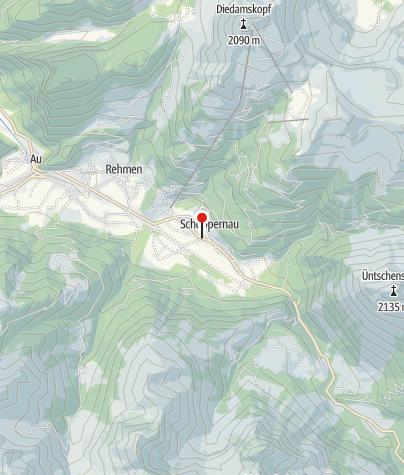 Karte / Dorfbäckerei Schoppernau