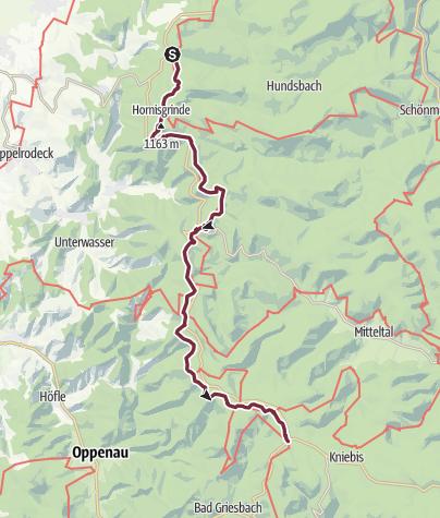 Karte / Westweg-Etappe 04: Unterstmatt - Alexanderschanze