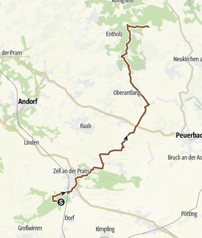 Karte / Mountenbike-Römerweg