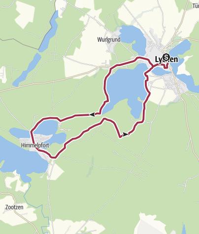 Karte / Woblitzrundweg
