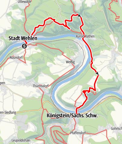 Karte / Höhepunkte der Region