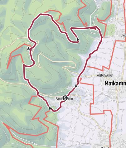 Map / Zum Hambacher Schloss