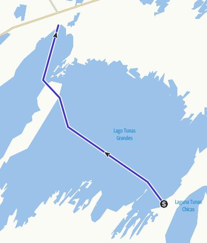 Map / Cruce de las Tunas