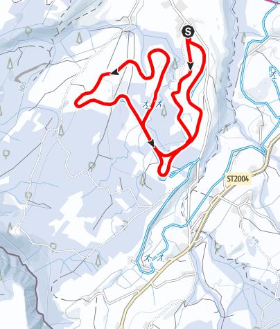 Karte / Weiler-Simmerberg R25 Große Obertrogener-Runde